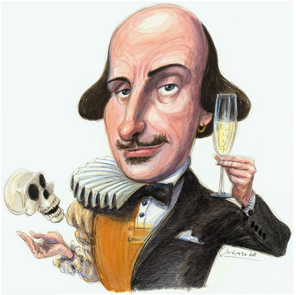 Shakespeare with Champagne