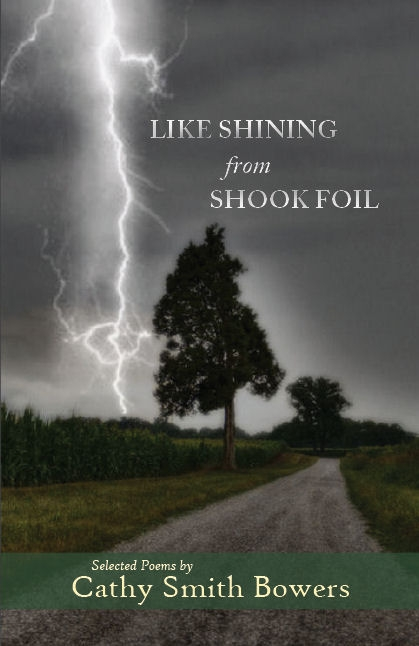 book cover, tree with lightning