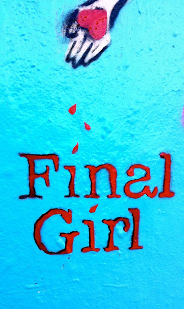 Final Girl.blue with heart
