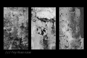 On Perseverance (Triptych of Textures)